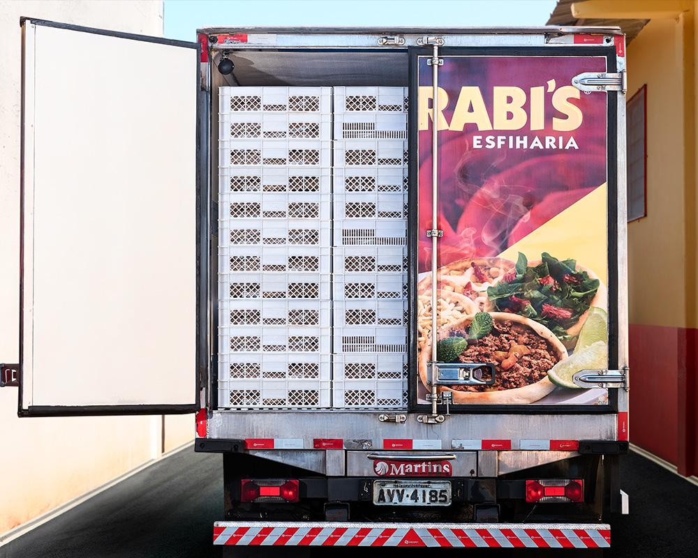 Caminhão Árabi's